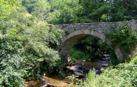 Δροσοπηγή Φλώρινας γεφύρι